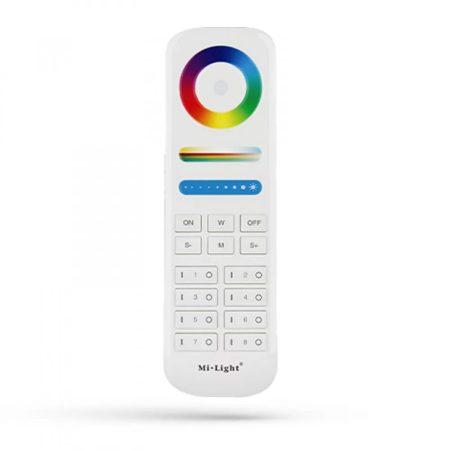 2,4G MiLight 8 zónás RGB+CCT csoport távirányító