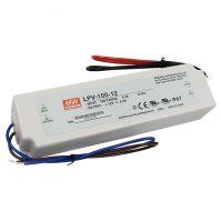 MW LPV-100-12 IP67 190x52x37 mm 12V DC