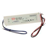 MW LPV-100-24 IP67 190x52x37 mm 24V DC