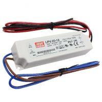 MW LPV-20-12 IP67 141x30x20 mm 12V DC