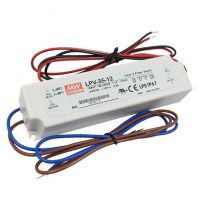 MW LPV-35-12 IP67 148x40x30 mm 12V DC