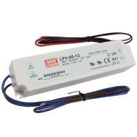 MW LPV-60-12 IP67 162,5x42,5x32 mm 12V DC