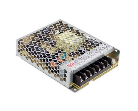 MW LRS-100-24 IP20 129x97x30 mm 24V DC