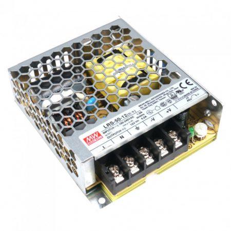 MW LRS-50-12 IP20 99x82x30 mm 12V DC