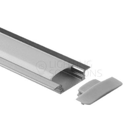 Alumínium süllyeszthető profil 2m
