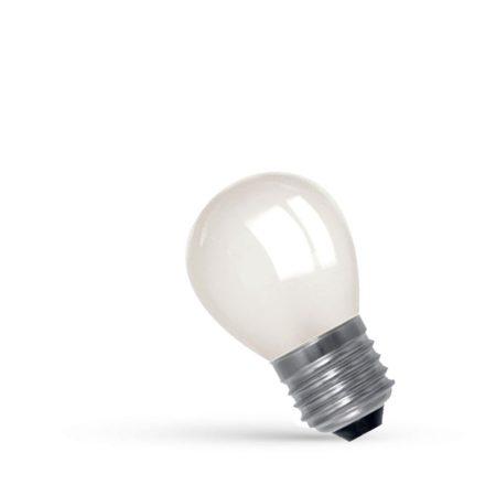 LED Kisgömb E27 230V 1W WW
