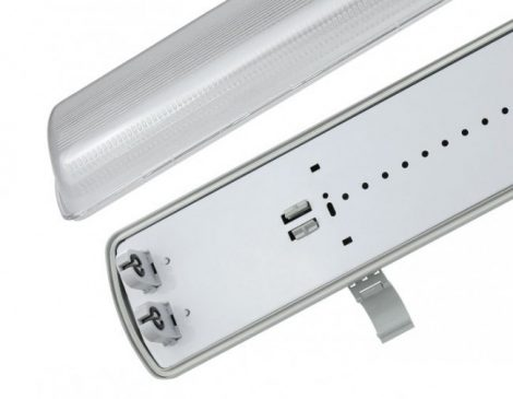 LIMEA LED Fénycső armatúra 2x60 IP65