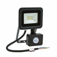 NOCTIS LUX 2 SMD 230V 10W IP44 CW fekete mozgásérzékelős
