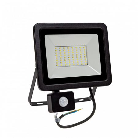 NOCTIS LUX 2 SMD 230V 50W IP44 NW fekete Mozgásérzékelős