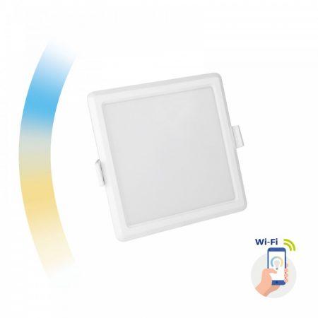 ALGINE 6W CCT+DIM Wi-Fi Spectrum SMART square, recessed
