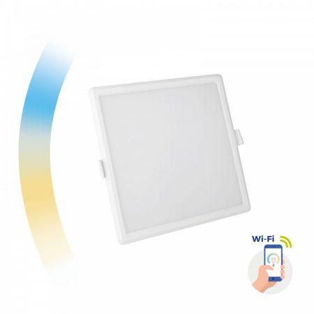 ALGINE 12W CCT+DIM Wi-Fi Spectrum SMART square, recessed