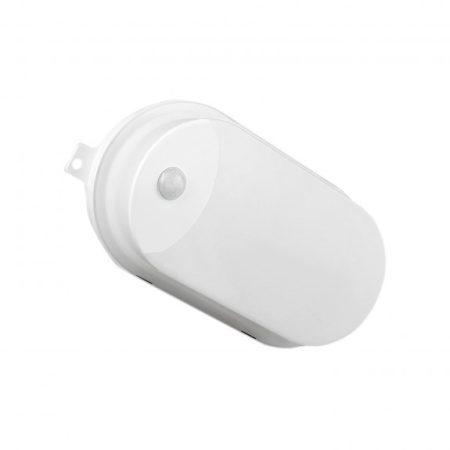 TECHNIC LAMP LED 230V 7W IP65 IK08 Ovális panel CW mozgásérzékelős