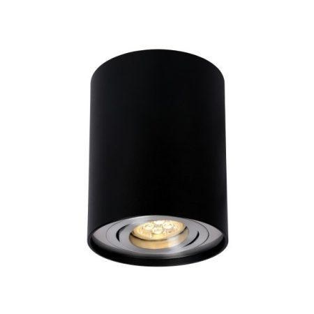 CHLOE GU10 IP20 kerek fekete állítható