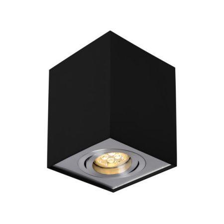 CHLOE GU10 IP20 négyszögletes fekete állítható