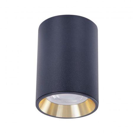CHLOE MINI IP20 kerek, ház fekete, gyűrű arany, perem fekete