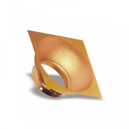 CHLOE ELEMENTO GU10 négyszögletes arany betét