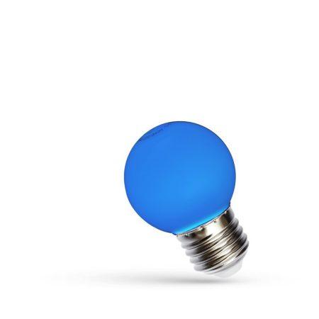 LED Kisgömb E27 230V 1W kék