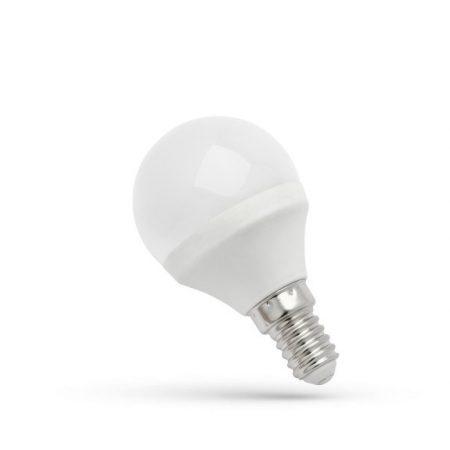 LED Kisgömb  E14 230V 6W CW