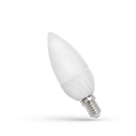 LED Gyertya E14 230V 6W WW