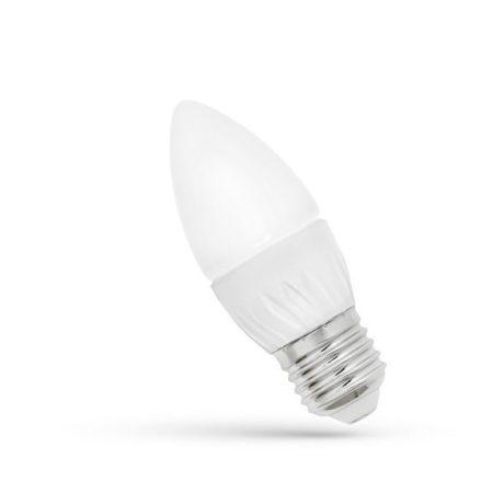LED Gyertya E27 230V 6W CW