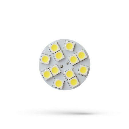 LED G4 12V 1,2W 12 LED WW 20x17mm