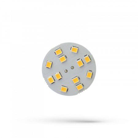 LED G4 12V 2W 12 LED CW 30x17mm