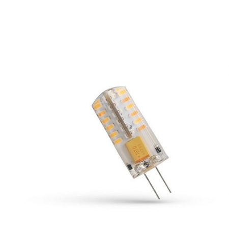 LED G4 szilikonos kapszula 12V 2W CW 13,5x36,5mm