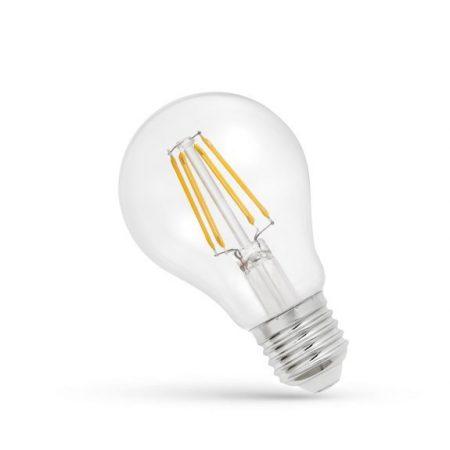 LED GLS E27 230V 6WCOG WW üveg