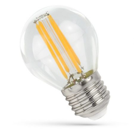LED Kisgömb E27 230V 4W COG WW Üveg