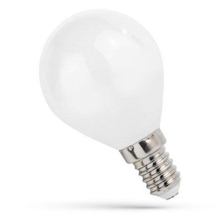 LED Kisgömb E14 230V 4WCOG WW üveg