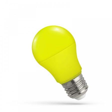 LED GLS E27 230V 5W SÁRGA