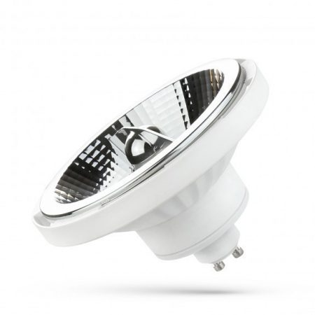 LED AR111 GU10 230V 15W SMD 45° NW fehér házas