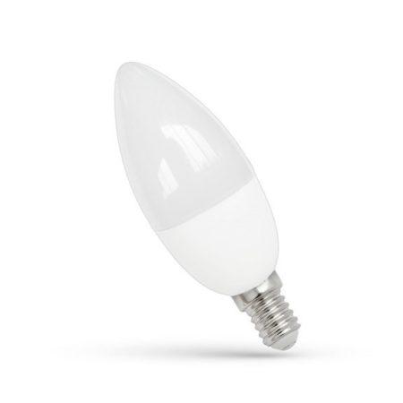 LED Gyertya E14 230V 7W NW