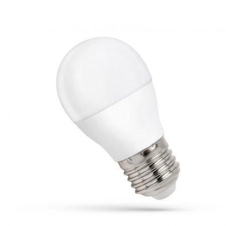LED Kisgömb E27 230V 8W WW