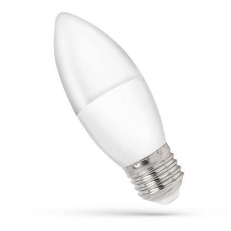 LED Gyertya E27 230V 8W WW