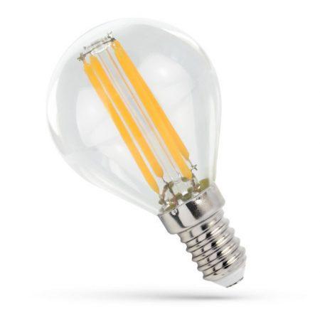 LED kisgömb E14 230V 4W COG NW üveg