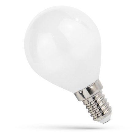 LED kisgömb E14 230V 4W COG NW fehér