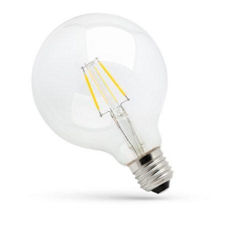 LED G125 E27 230V 8W COG NW üveg