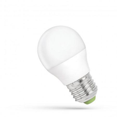 LED kisgömb E27 230V 6W WW dimm