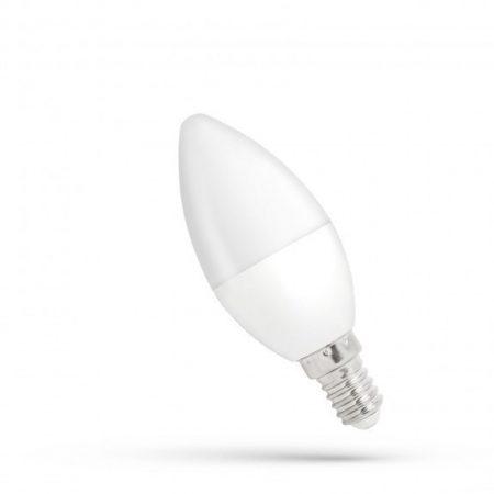 LED gyertya E14 230V 6W WW dimm