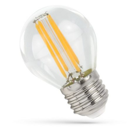 LED Kisgömb E27 230V 6W COG WW Üveg