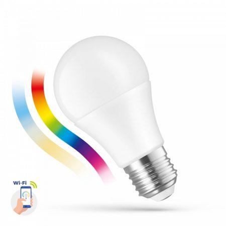 LED A60 E27 230V 9W RGBW+CCT+DIM WI-FI - SMART