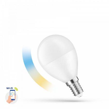 LED Kisgömb E14 230V 5W CCT+DIM WIFI - SMART