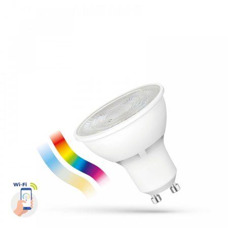 LED GU10 230V 5W RGBW+CCT+DIM WI-FI - SMART