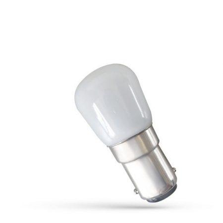 LED hűtőizző BA15D 230V 2W CW
